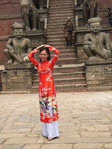 Bhaktapur, Nepal - April 2009
