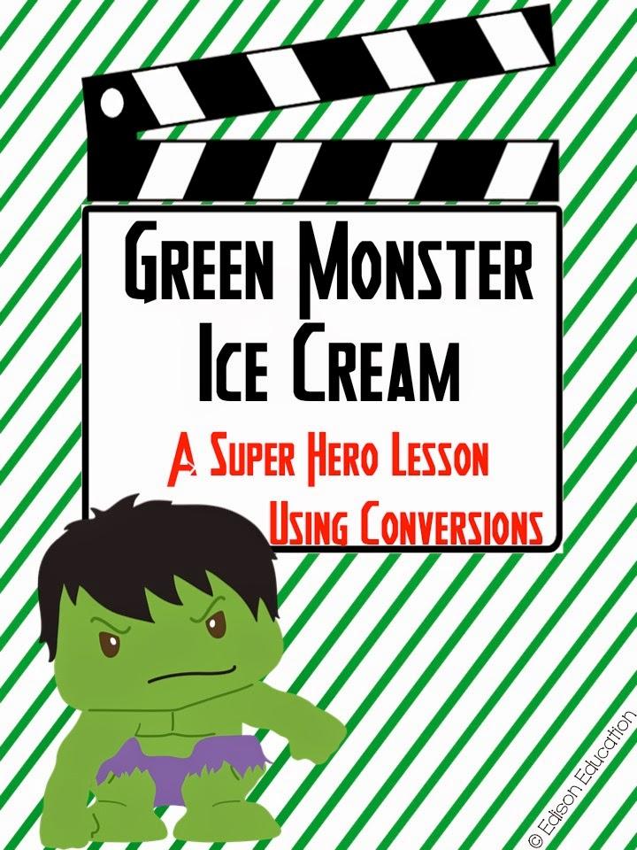 https://www.teacherspayteachers.com/Product/Green-Monster-Measurement-Conversions-1734737