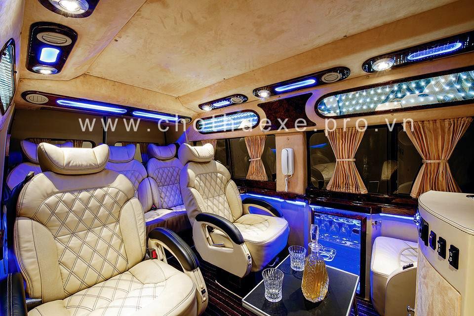 thue xe ford transit dcar vip 2014