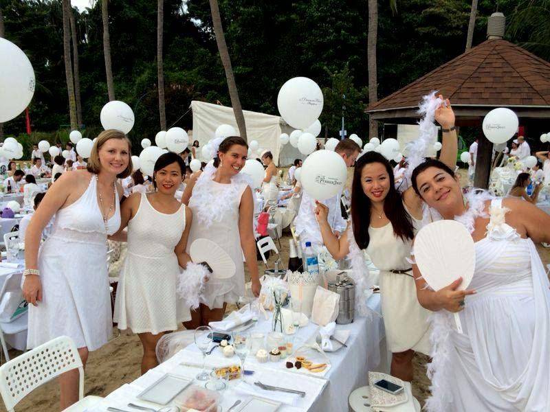 Diner en blanc Cingapura