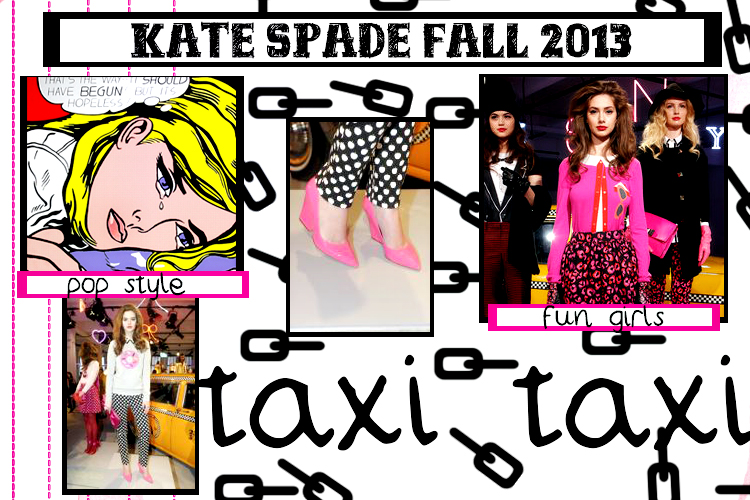 kate spade taxi bag image