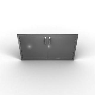Steel Double Horizontal Doors