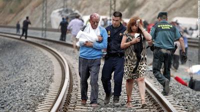 Condutor que causou acidente de trem na Espanha, irá responder criminalmente pelas mortes das 79 vitimas.
