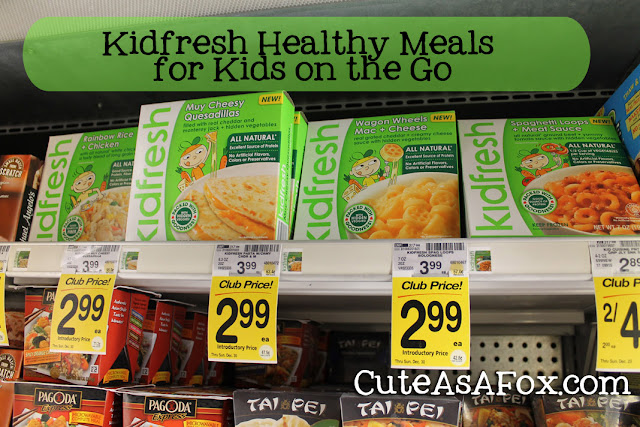 Kidfresh, Safeway, frozen kid's meals, healthy kid's meals, easy kid's meals