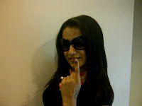 Indian-Tamil-Telugu-Hindi-Actress-Trisha-vote-2011-march-election-TN-India