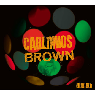 "Capa do disco ""Adobró"", de Carlinhos Brown"