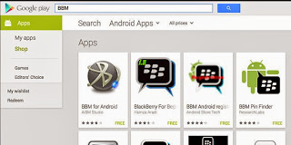 "BBM retirement Android , Google suddenly "" Diligent """