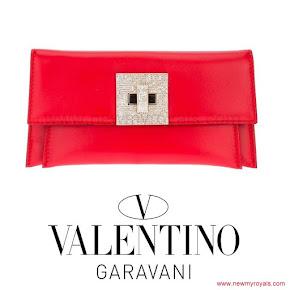 Queen Maxima Style VALENTINO GARAVANI Clutch Bag
