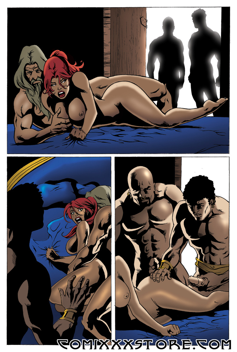 xxx comic book