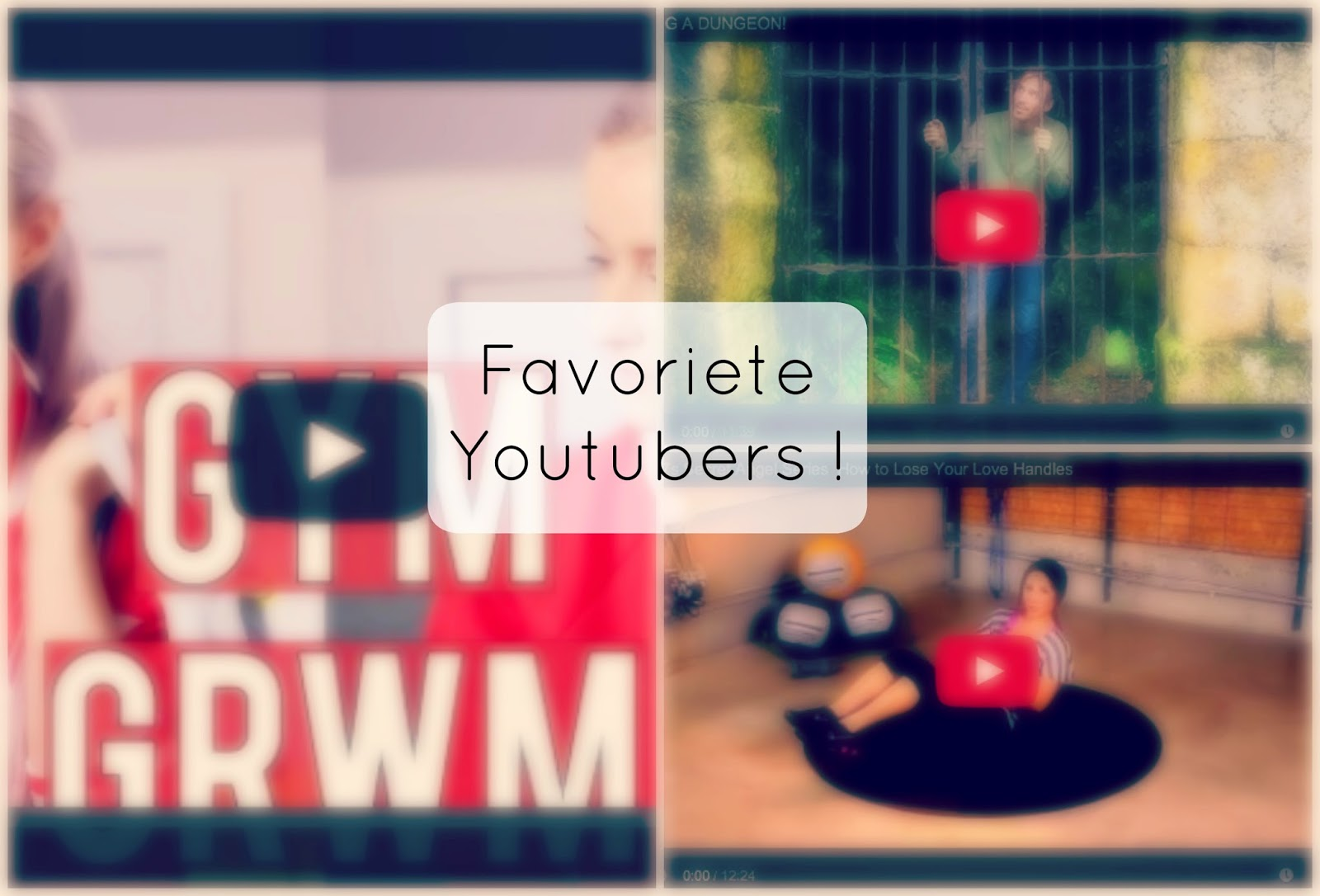 favoriete youtubers