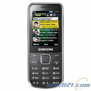 Samsung C3530 Chrome Silver