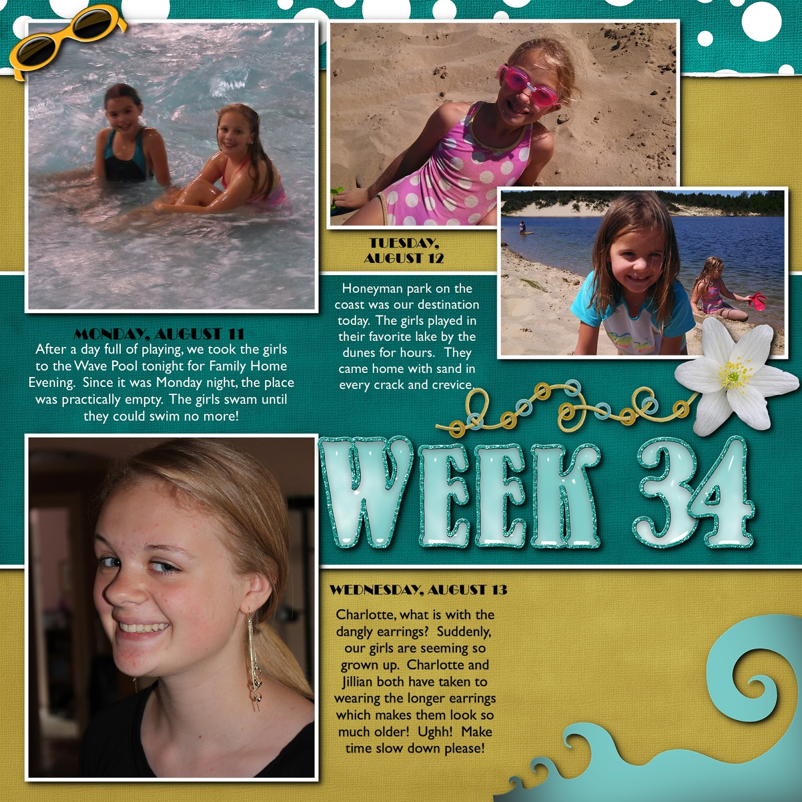 The westover family blog week 34 for The westover