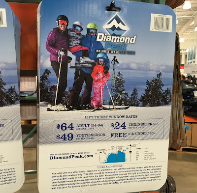 Hit the slopes and save money with 2 $50 Gift Cards for Diamond Peak