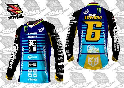 Jual Jersey Baju Pakaian Celana Sepeda, Motocross, Trail...dll - RMA Ride More Asia Jersey Sample 7