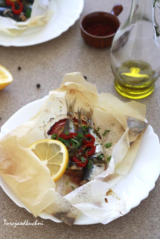 Ryba pieczona w papierze