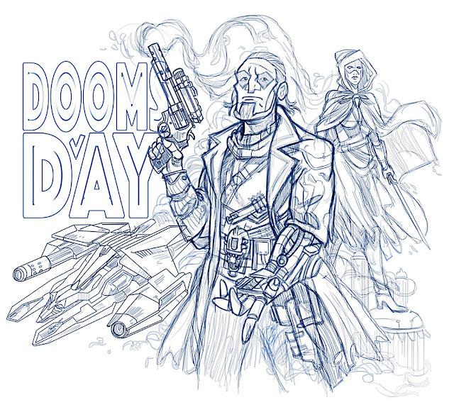 Doomsday, una nueva aventura conversacional para Amstrad CPC en ciernes