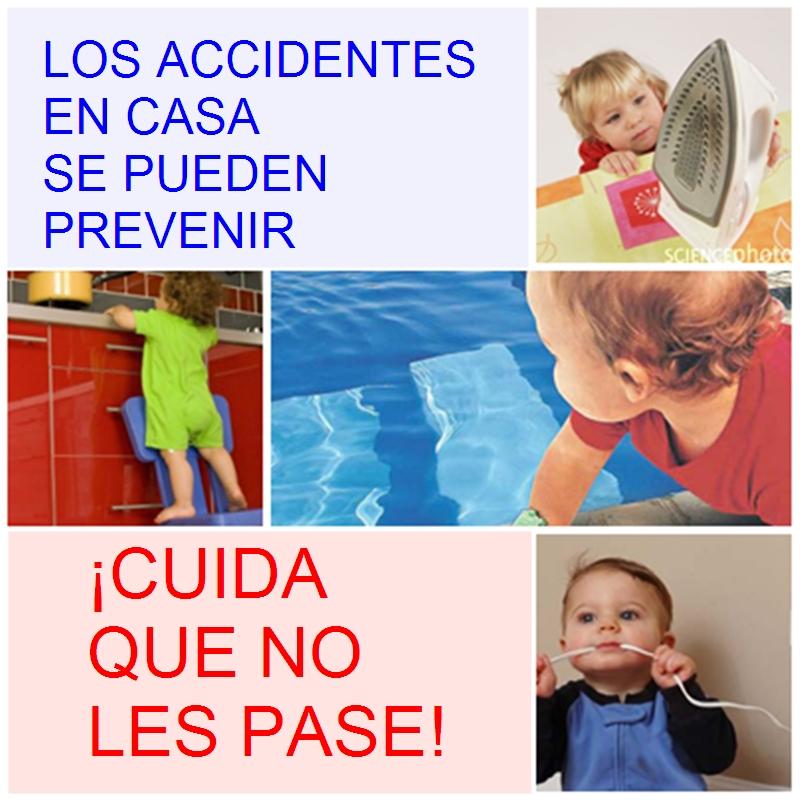 AFICHE  PREVENCION DE ACCIDENTES EN NI  OS
