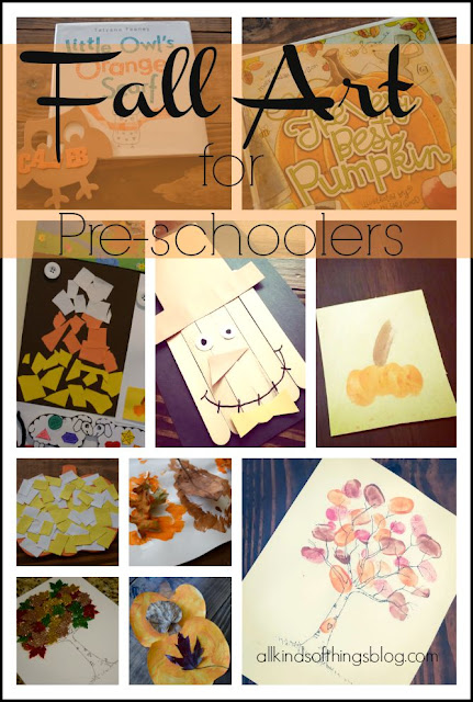 Fall Art for Pre-schoolers