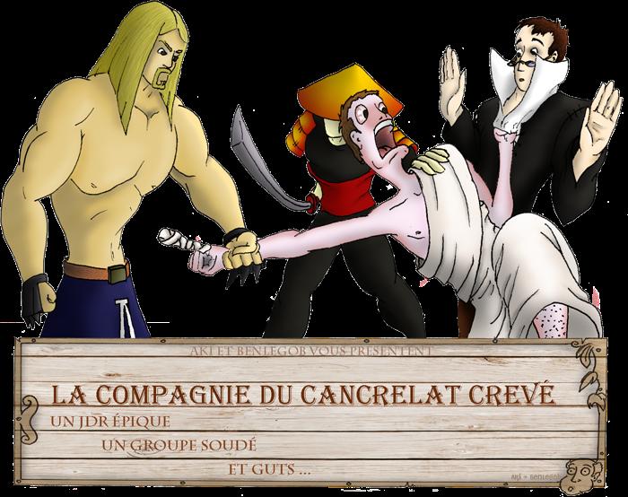 La Compagnie du Cancrelat Crevé