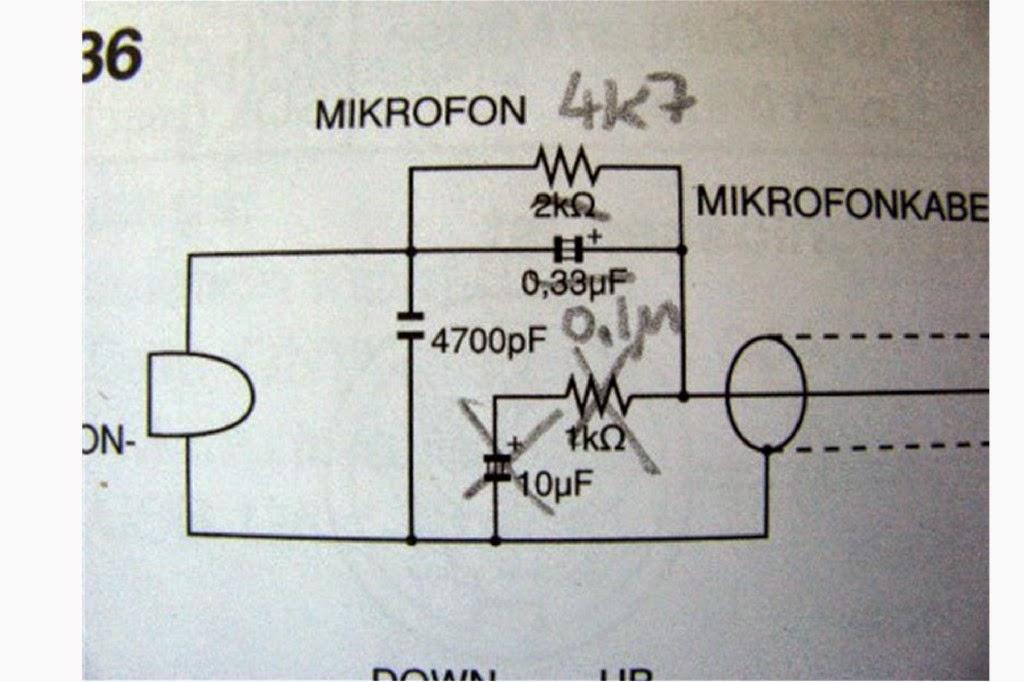 Anton\'s Funkperlen: Funkperlen reloaded: Icom HM-36 Mod