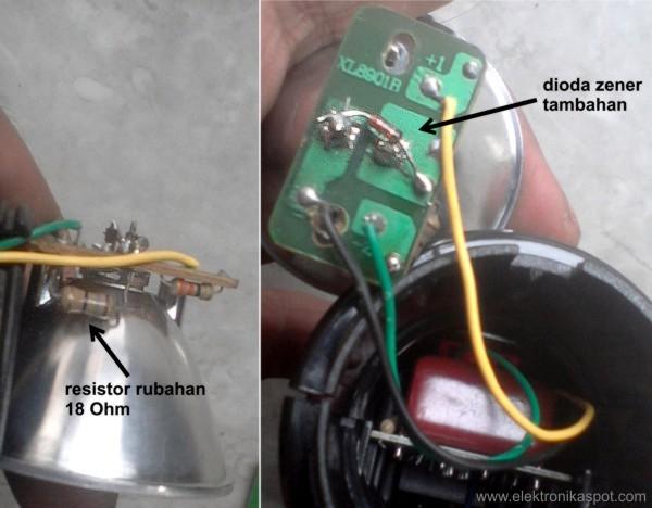 Agar Senter Led Awet Elektronika Spot