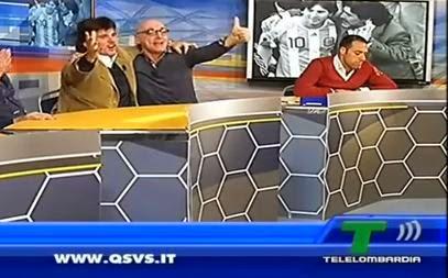 Juventus-Milan 2-1 chirico vs. ruiu