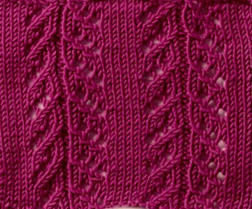 Knitting Abbreviations Yo : Knitting galore saturday stitch pointelle