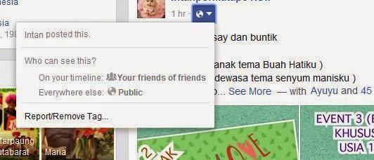 cara menghilangkan menyingkirkan tag facebook