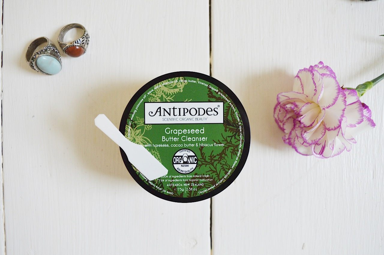 Antipodes Grapeseed Butter Cleanser review, FashionFake, beauty bloggers, cleansers for sensitive skin