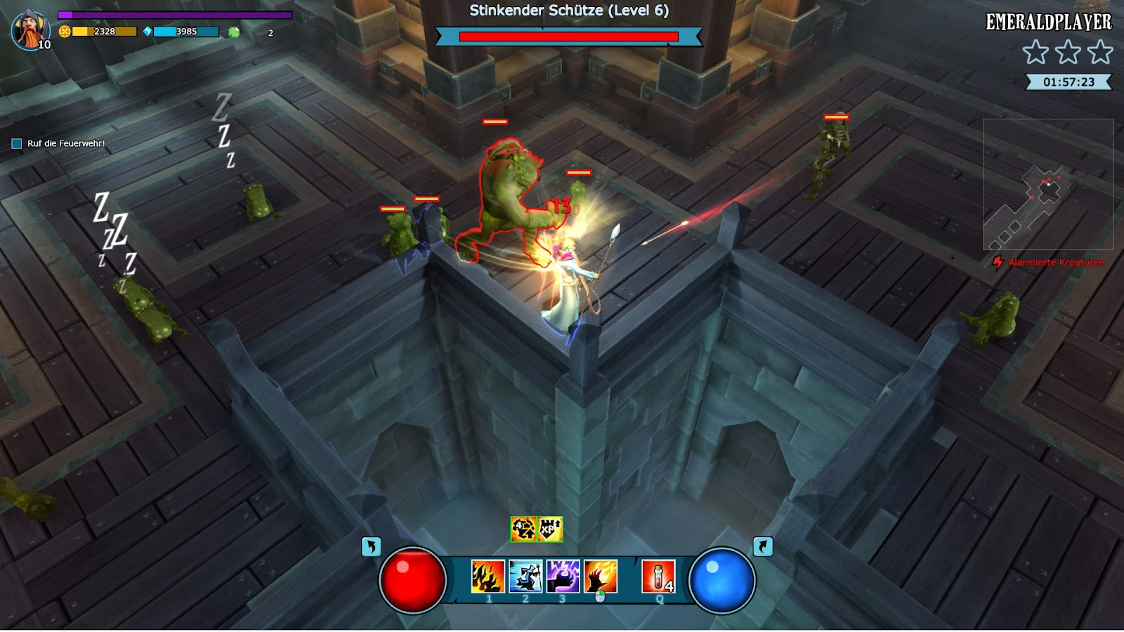 Mighty quest for epic loot Casle
