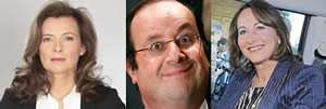 Hollande y sus chichis