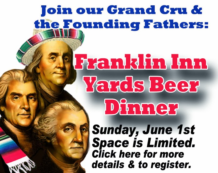 Yards Beer Dinner