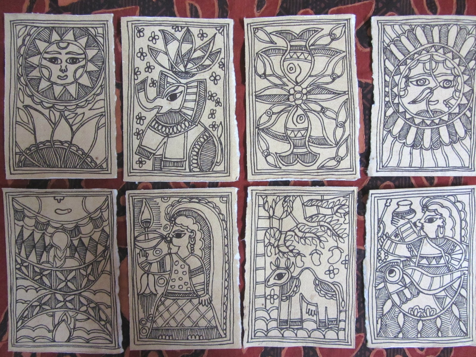 CrazyLassi's Madhubani Art Practice and Research Blog: How ...