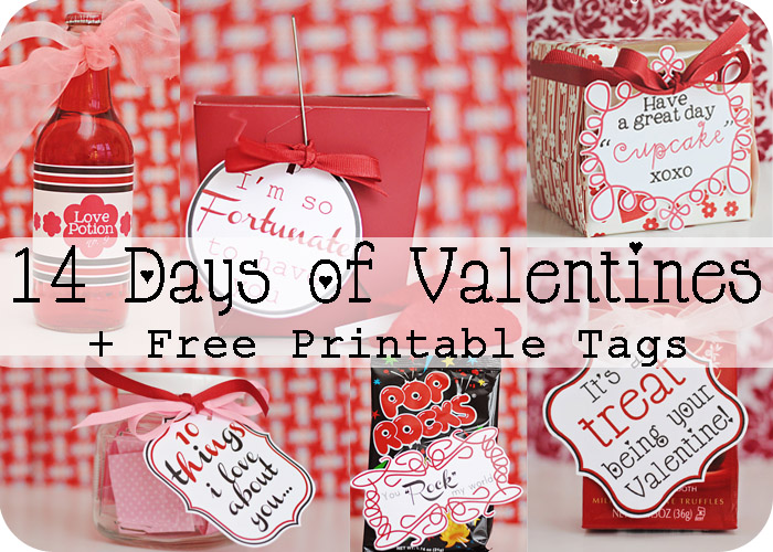 Mommy by day Crafter by night: 14 Days of Valentines + Free Printables