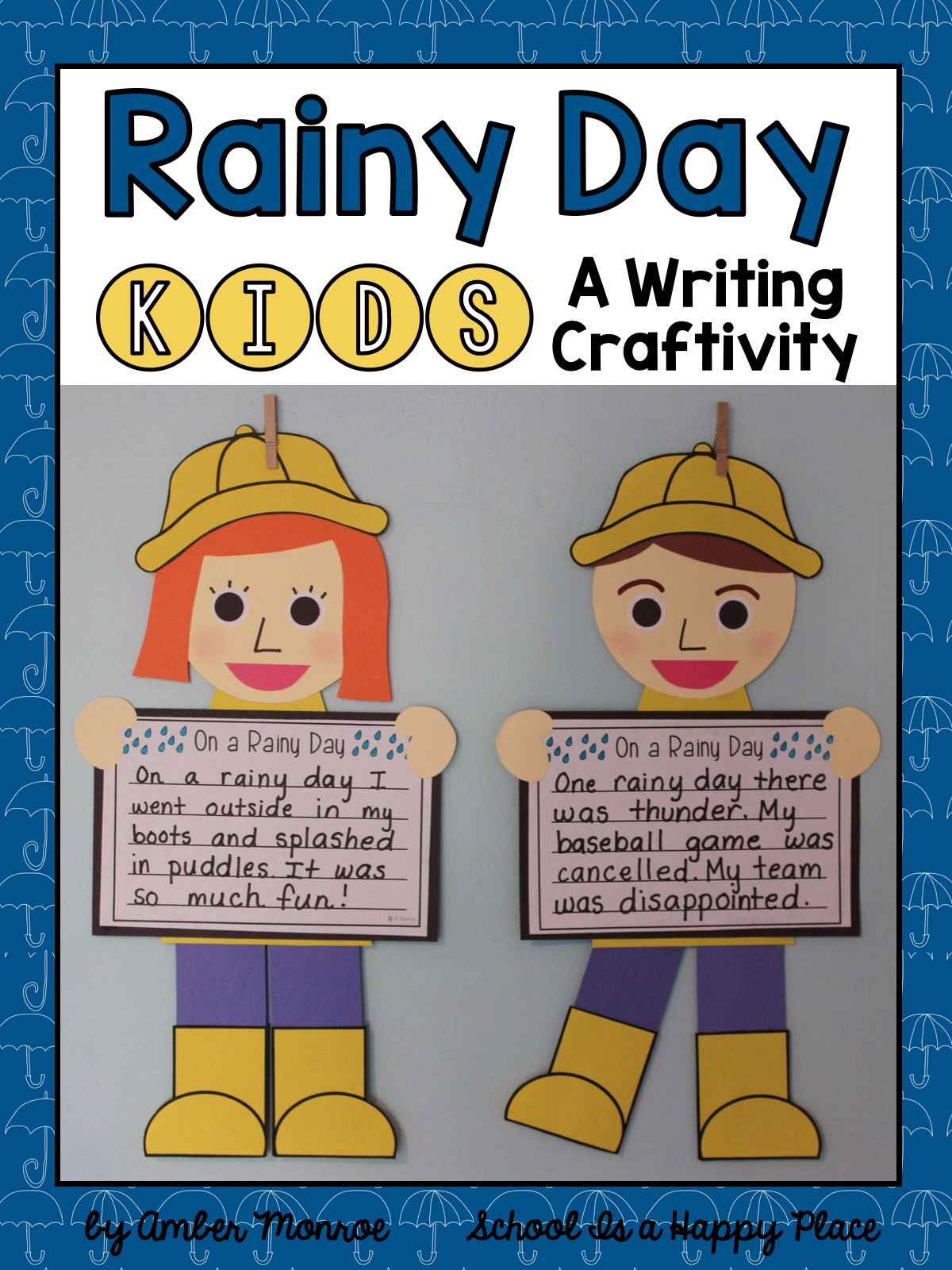 Writing Craftivity for Spring