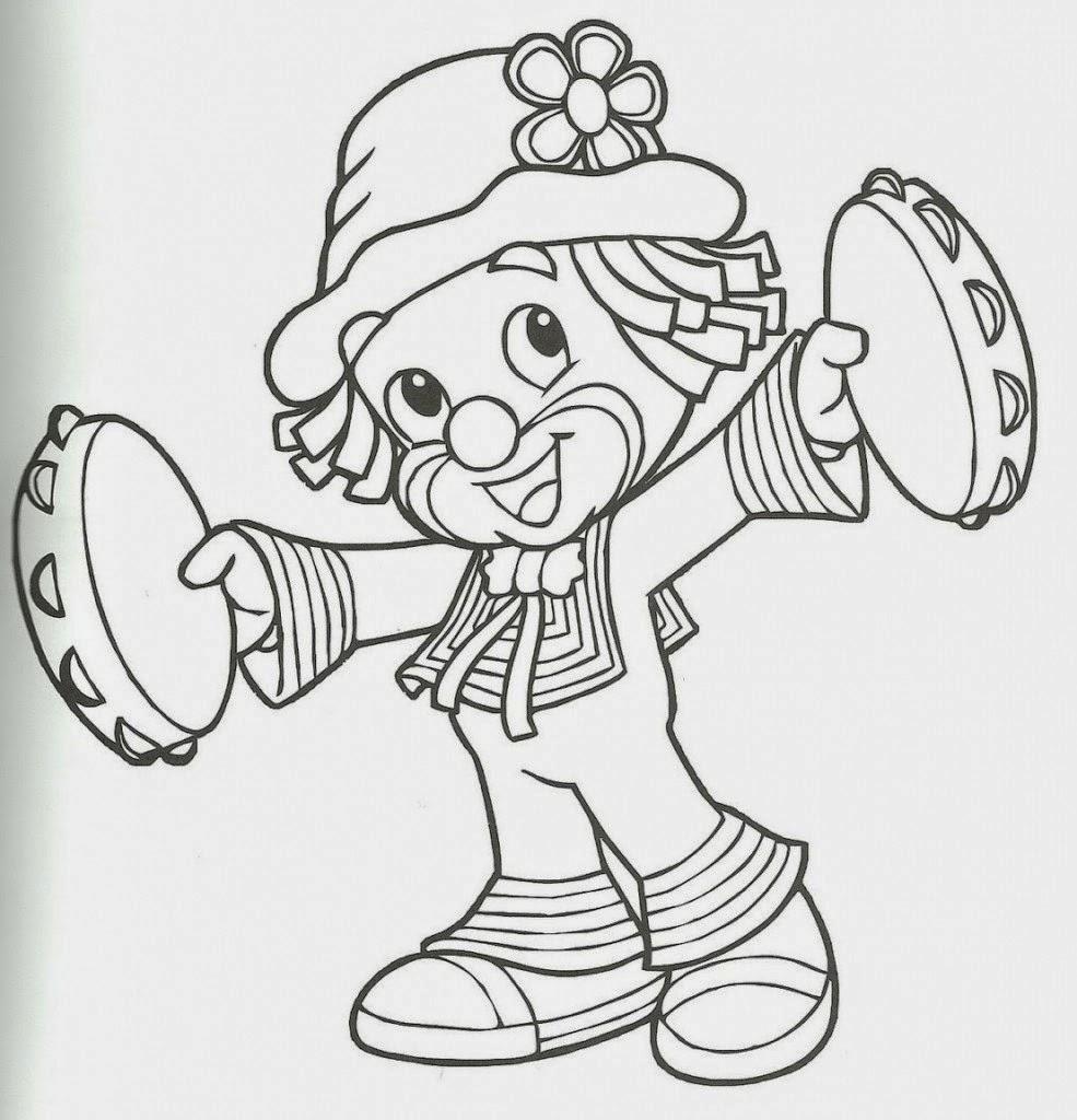 Imagens Flores No C o likewise 5 Desenhos De Chapeus Para Colorir likewise Imagens Barbie Em Cima De Um Unicornio additionally Payasos Para Colorear Parte 4 moreover Colorir De Avo E  a 191739. on desenhos animados para pintar