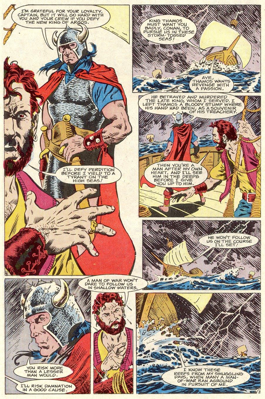 Conan the Barbarian (1970) Issue #186 #198 - English 3