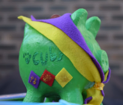 Cub scouts piggy Bank