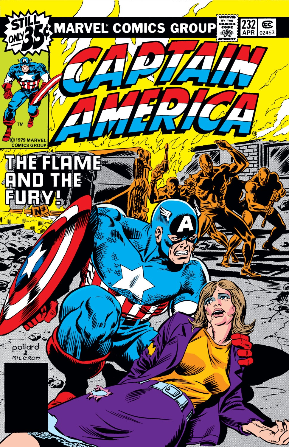 Captain America (1968) Issue #232 #147 - English 1