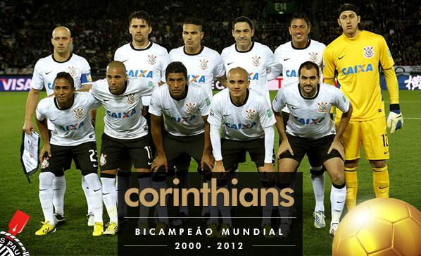 Fifa Corinthians bi Campeão Mundial Corinthians Bi-campeão do