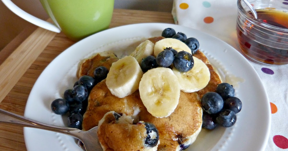 A Squared: Blueberry Banana Buttermilk Pancakes