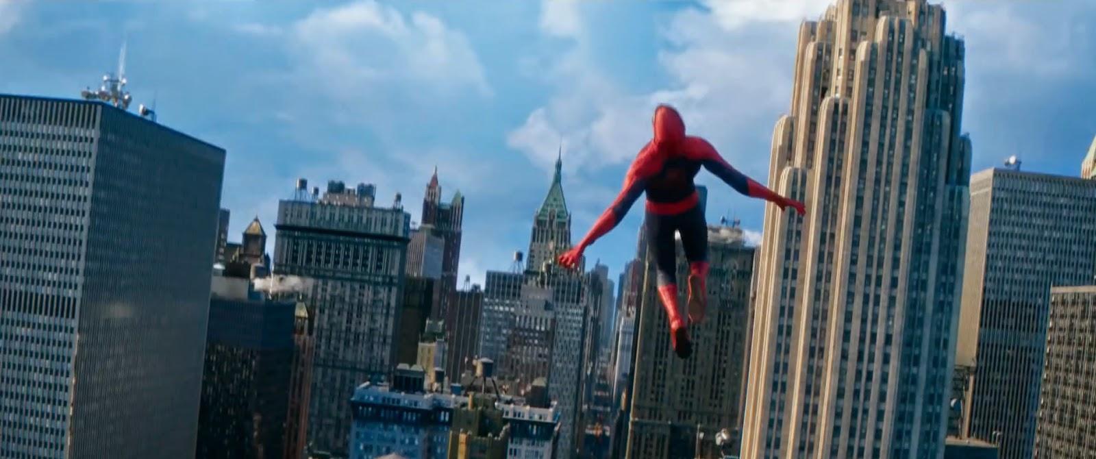 Spiderman Background Buildings