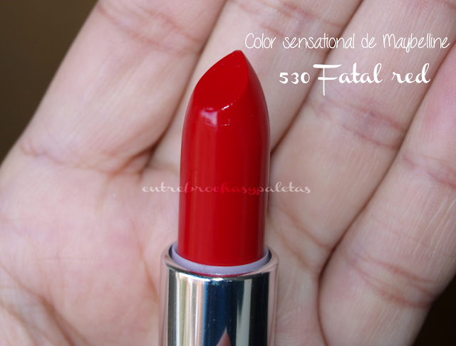 fatal red maybelline