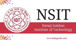 NSIT 2016 Application Form