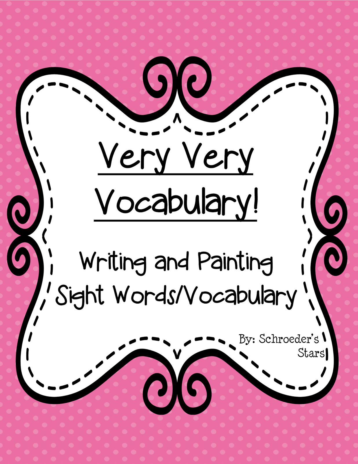 http://www.teacherspayteachers.com/Product/Very-Very-Vocabulary-1115415