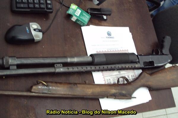 PETROLINA-PE: Polícia Civil apreende armas em cumprimento a mandado de busca e apreensão