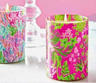 lilly pulitzer candle lifeguard press