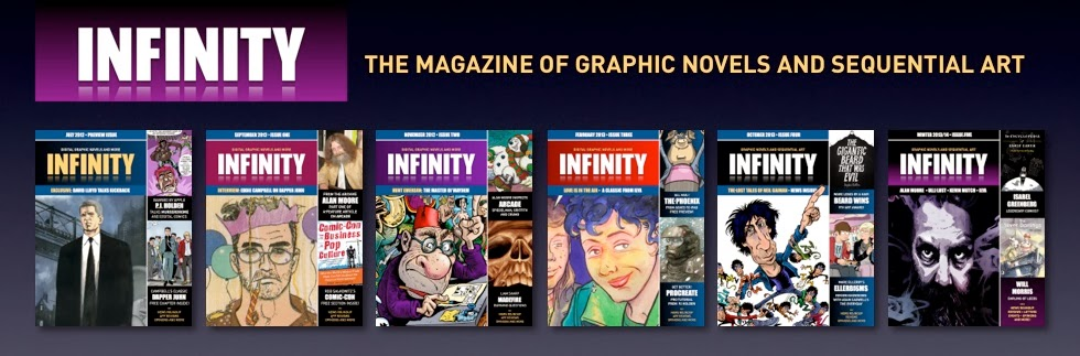 Graphic Novels, Comics and Sequential Art: Infinity Magazine