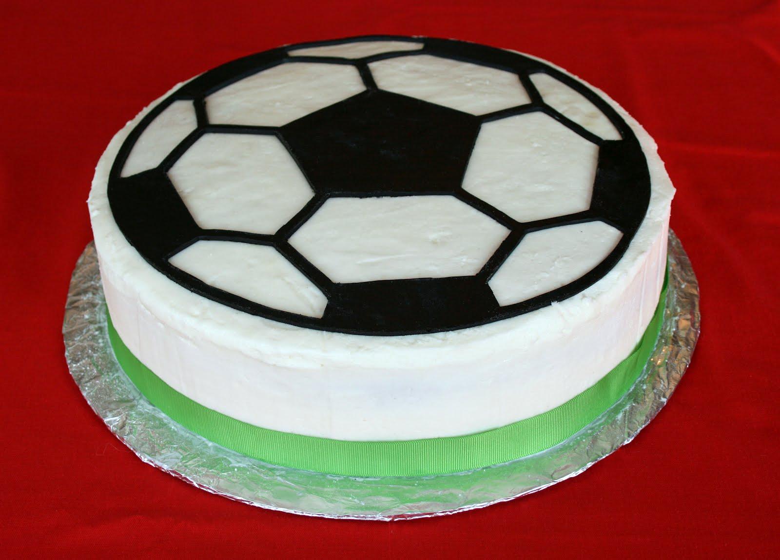 Торт футбольный своими руками