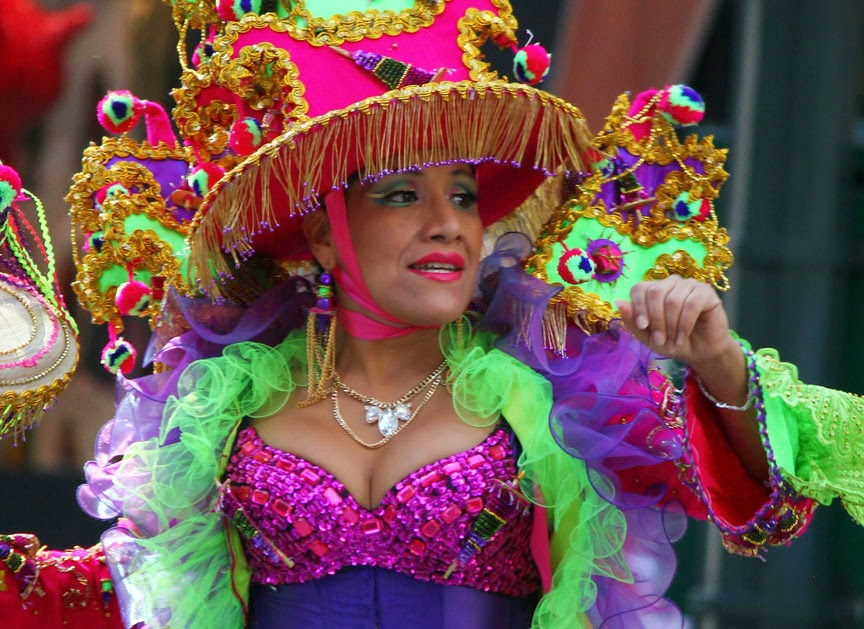 Desfile de la hispanidad